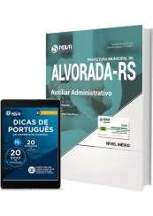 Apostila Pref. de Alvorada - RS - Auxiliar Administrativo