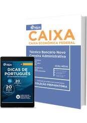 Apostila CAIXA – Técnico Bancário Novo