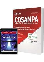 Apostila COSANPA PA - Assistente Administrativo - Área: Administrativa