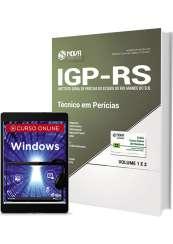 Apostila IGP-RS - Técnico em Perícias