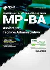 Apostila MP BA 2017 - Assistente Técnico Administrativo