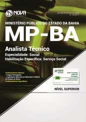 Apostila MP BA - Analista Técnico – Especialidade: Social – Habilitação Específica: Serviço Social