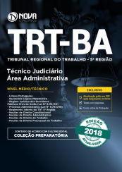 Apostila TRT-BA 5ª região - Técnico Judiciário Área: Administrativa