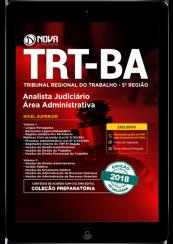 Download Apostila TRT-BA 5ª região Pdf - Analista Judiciário Área: Administrativa