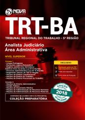 Apostila TRT-BA 5ª região - Analista Judiciário Área: Administrativa