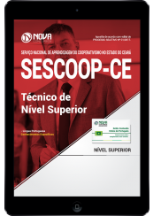 Download Apostila SESCOOP-CE PDF - Técnico de Nível Superior