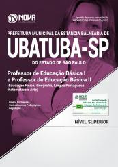Apostila Prefeitura de Ubatuba-SP - Professor de Educação Básica I e Professor de Educação Básica II