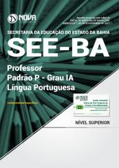 Apostila SEE-BA - Professor Padrão P – Grau IA - Língua Portuguesa
