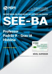 Apostila SEE-BA - Professor Padrão P – Grau IA - História