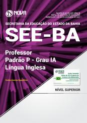 Apostila SEE-BA - Professor Padrão P - Grau IA - Língua Inglesa
