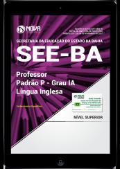 Download Apostila SEE-BA PDF - Professor Padrão P - Grau IA - Língua Inglesa