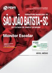 Apostila Prefeitura de São João Batista-SC - Monitor Escolar