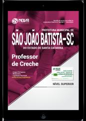 Download Apostila Prefeitura de São João Batista-SC PDF - Professor de Creche