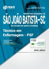 Apostila Prefeitura de São João Batista-SC - Técnico em Enfermagem - PSF