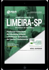 Download Apostila Prefeitura de Limeira-SP PDF - Professor Substituto de Educação Infantil e Ensino Fundamental