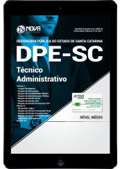 Download Apostila DPE-SC PDF - Técnico Administrativo