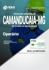 Apostila Prefeitura de Camanducaia - MG - Operário