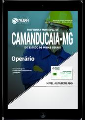 Download Apostila Prefeitura de Camanducaia - MG PDF - Operário