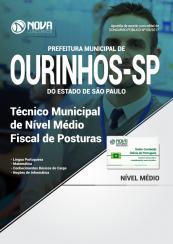 Apostila Prefeitura de Ourinhos - SP - Fiscal de Posturas