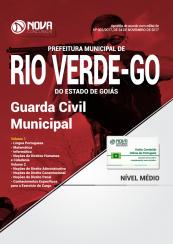 Apostila Prefeitura de Rio Verde - GO - Guarda Civil Municipal
