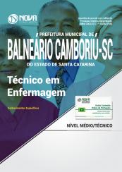 Apostila Prefeitura de Balneário Camboriú - SC - Técnico em Enfermagem