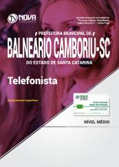 Apostila Prefeitura de Balneário Camboriú - SC - Telefonista