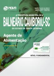 Apostila Prefeitura de Balneário Camboriú - SC - Agente de Alimentação