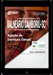 Download Apostila Prefeitura de Balneário Camboriú - SC PDF - Agente de Serviços Gerais