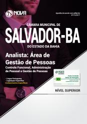 Apostila Câmara Municipal de Salvador - BA - Analista: Área de Gestão de Pessoas