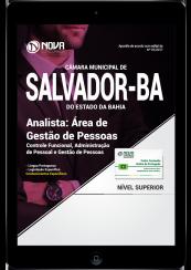 Download Apostila Câmara Municipal de Salvador - BA PDF - Analista: Área de Gestão de Pessoas