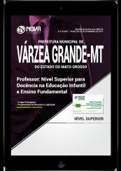 Download Apostila Prefeitura de Várzea Grande - MT PDF - Professor de Educação Infantil e Ensino Fundamental