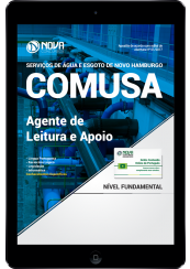 Download Apostila COMUSA - RS PDF - Agente de Leitura e Apoio