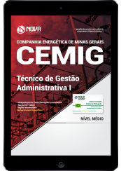 Download Apostila CEMIG - MG PDF - Técnico de Gestão Administrativa I