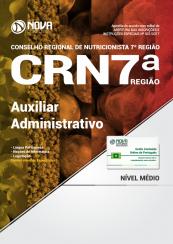 Apostila CRN 7ª Região - Auxiliar Administrativo