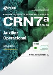Apostila CRN 7ª Região - Auxiliar Operacional