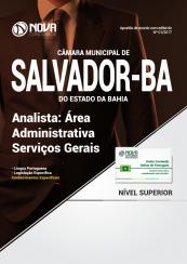 Apostila Câmara Municipal de Salvador - BA - Área Administrativa Serviços Gerais