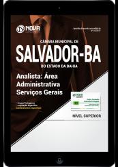Download Apostila Câmara Municipal de Salvador - BA PDF - Área Administrativa Serviços Gerais