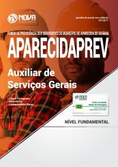 Apostila AparecidaPREV - GO - Auxiliar de Serviços Gerais
