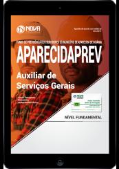 Download Apostila AparecidaPREV - GO PDF - Auxiliar de Serviços Gerais