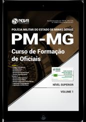 Download Apostila PM-MG PDF - Curso de Formação de Oficiais