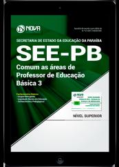 Download Apostila SEE-PB PDF - Comum as Áreas de Professor de Educação Básica 3