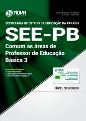 Apostila SEE-PB - Comum as Áreas de Professor de Educação Básica 3