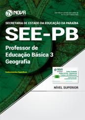 Apostila SEE-PB - Professor de Educação Básica 3 - Geografia