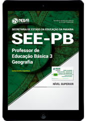 Download Apostila SEE-PB PDF - Professor de Educação Básica 3 - Geografia