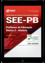 Download Apostila SEE-PB PDF - Professor de Educação Básica 3 - História