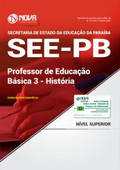Apostila SEE-PB - Professor de Educação Básica 3 - História