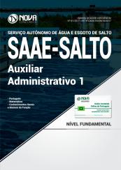 Apostila SAAE-SP - Auxiliar Administrativo I