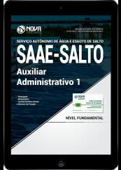 Download Apostila SAAE-SP PDF - Auxiliar Administrativo I