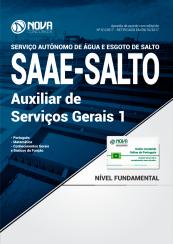 Apostila SAAE-SP - Auxiliar de Serviços Gerais I