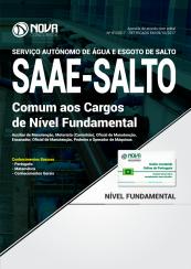 Apostila SAAE-SP - Comum aos Cargos de Nível Fundamental